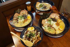 三重美食。火曜三番目 平價高標準的九州正宗日式拉麵