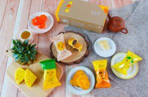 宅配美食。蕃老爹地瓜黃金酥  低甜地瓜甜點 帶入台灣味的伴手禮